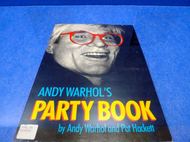 The Party Book, the last party covered in the book is Andy's wake