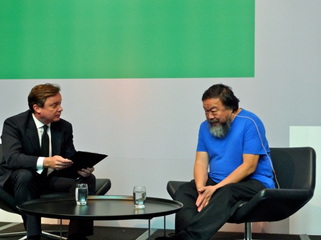 Tony Ellwood talks to Ai Weiwei