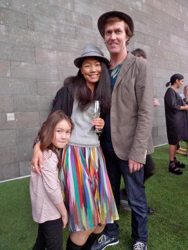 Yuki Hatano-Stone, Aya Hatano and Tim Stone