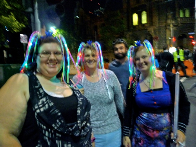 White Night revellers