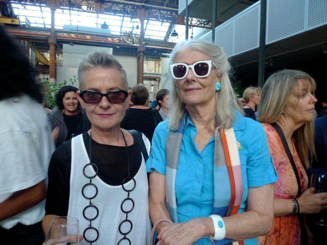 Marita Leuver and Penelope Seidler