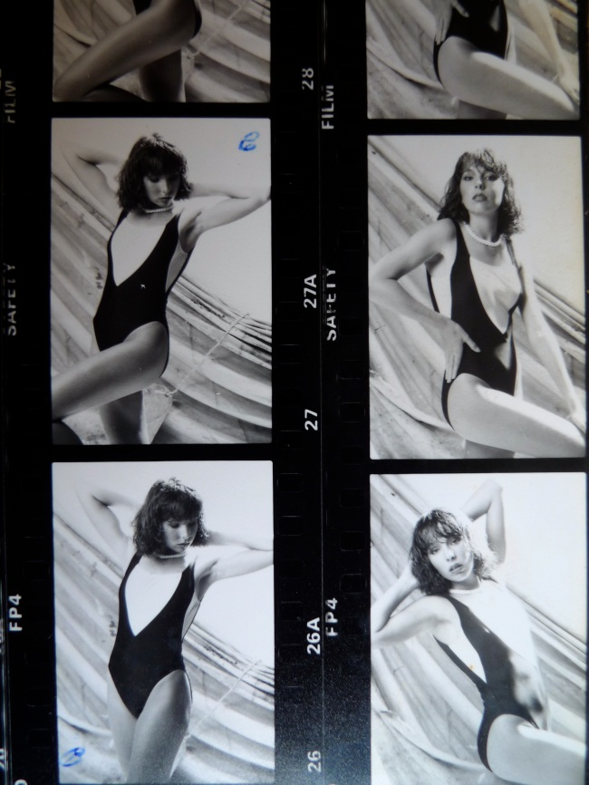 Swimsuit contact sheet