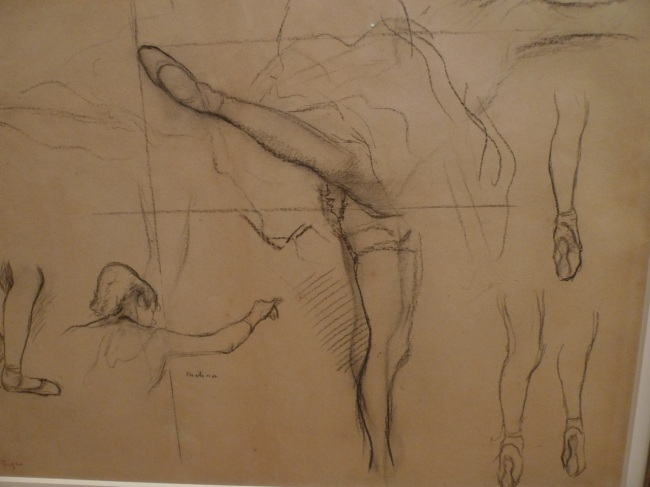 Dancer - Six sketches, 1878