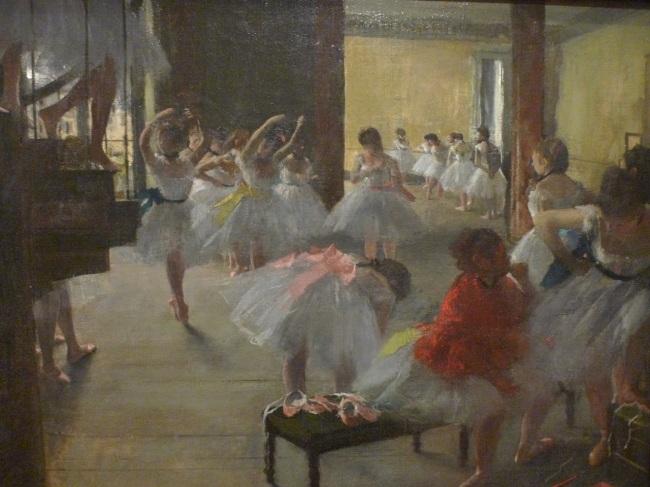 The dance class, 1873