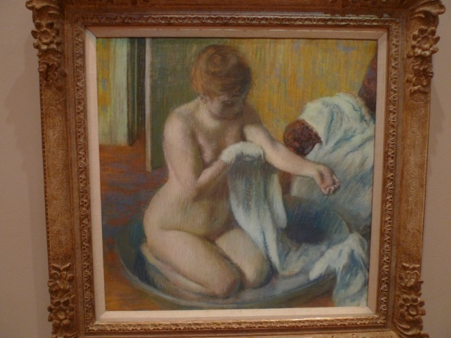 Woman in a tub, 1884-86