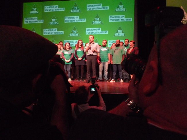 Adam Bandt, MP for Melbourne increased his margin