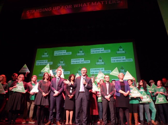 Greens Leader Richard Di Natale