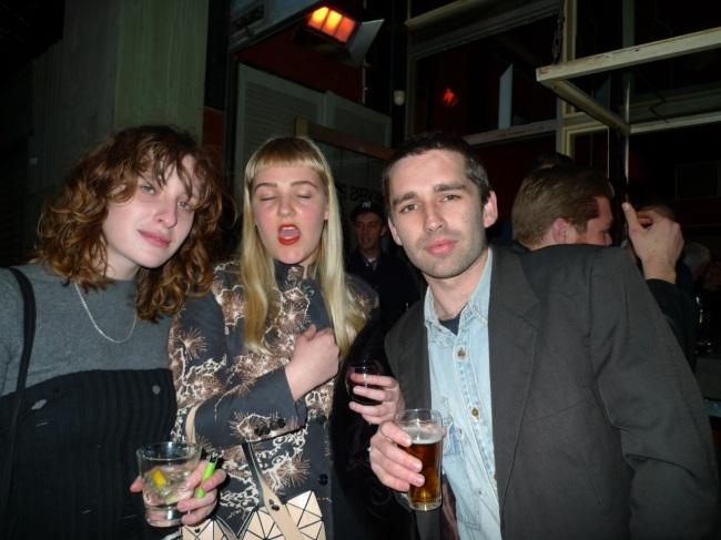 Brit D'Argaville, Chloe Sugden and Josey Kidd Crow