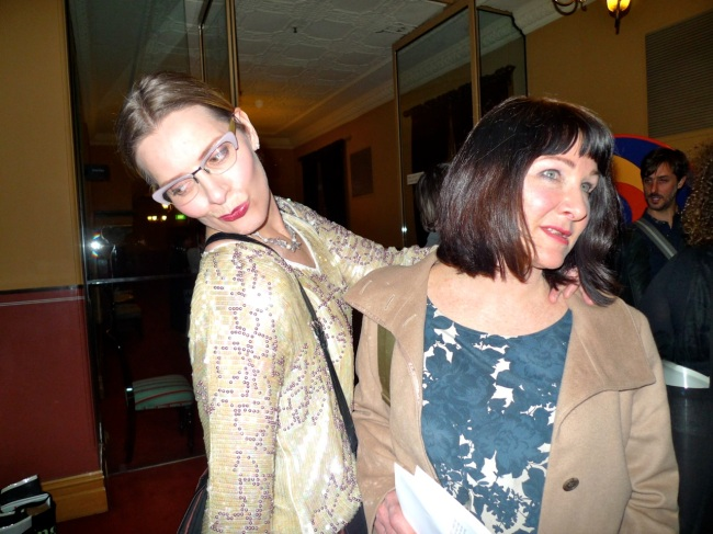 Catherine Bell and Lisa Young