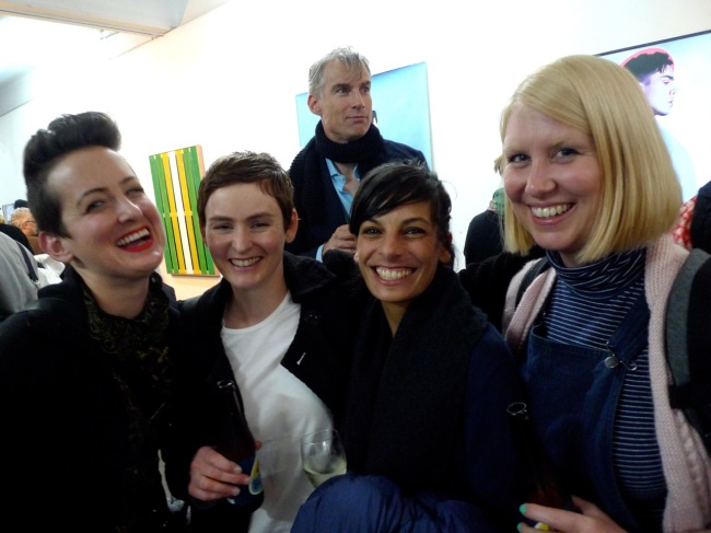 Kate, Fiona, Sangeeta, Tarryn and the photo bomb tall guy