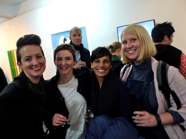 Kate Just, Fiona McMonagle, Sangeeta Sandrasegar and Tarryn Gill