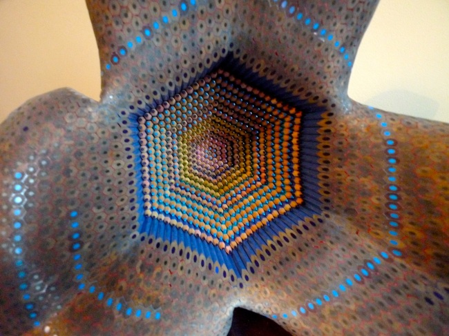 Lionel Bawden; incredible pencil sculptures