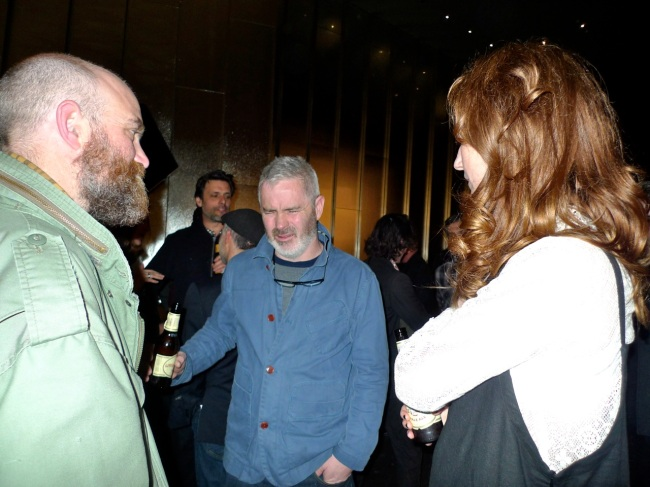 Adam Pyett, Tim McMonagle and Hannah Matthews