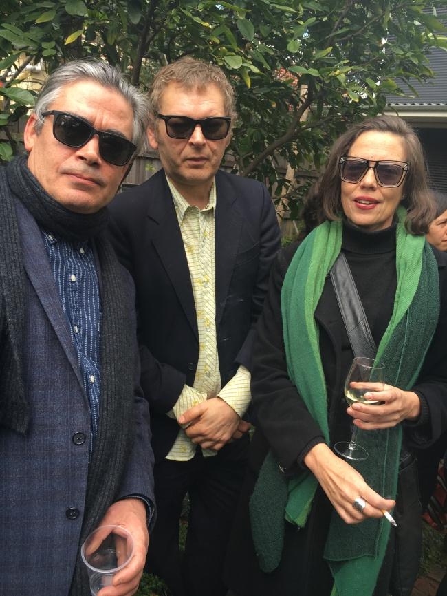 Matthew Johnson, Ronnie van Hout and Kirsten Rann
