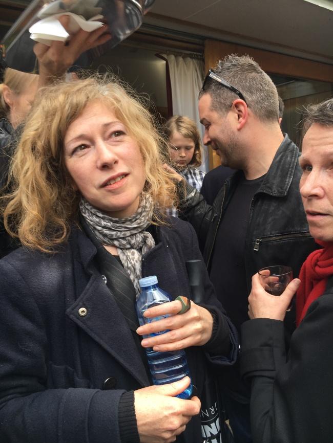 Sue Dodd with Sandra Bridie