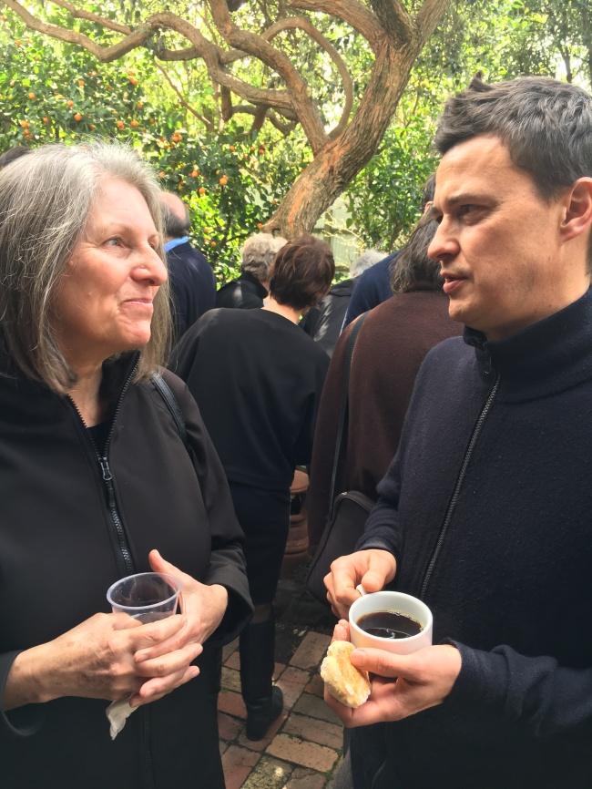 Terri Bird and Tom Nicholson