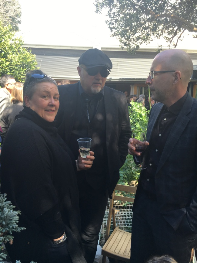 Elvis, Joe Lambe and Mark Hislop