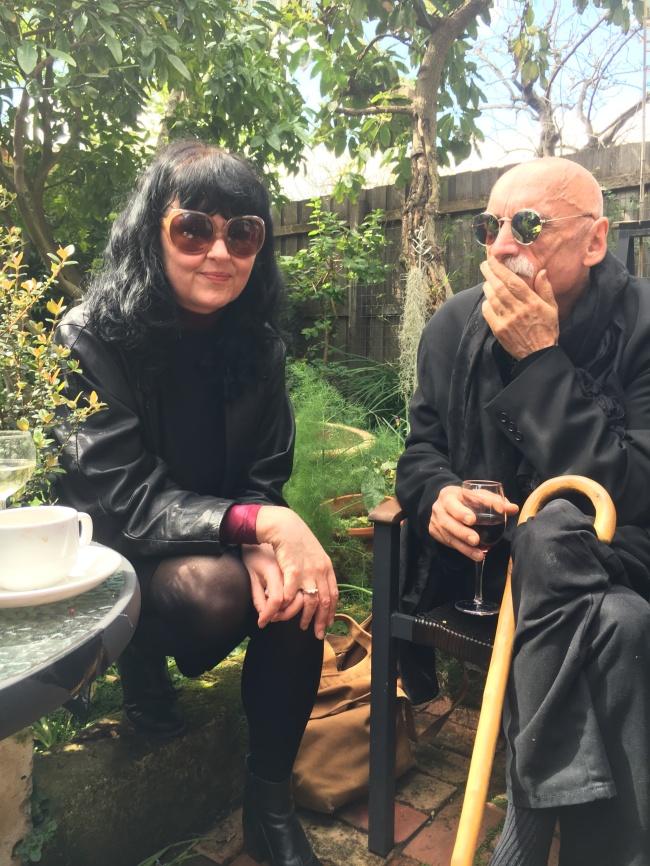 Katherine Plunkett and Bernard Sachs
