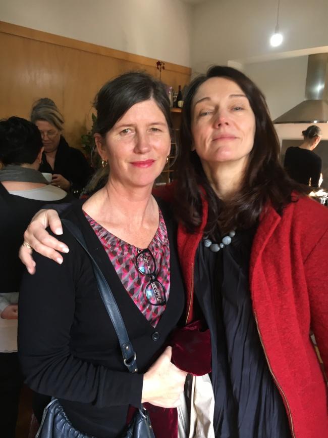 Louise Murray and Ruth Bain