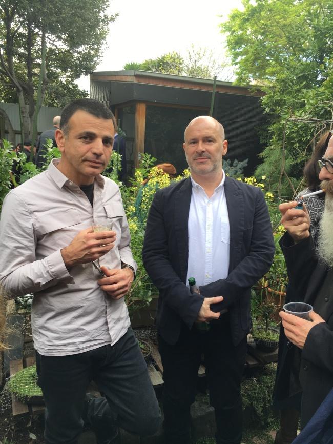 Raf, Damiano and Greg Richards