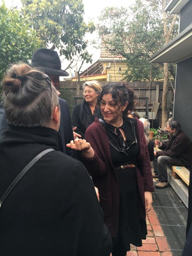 Virginia Madia and Katherine O'Reilly