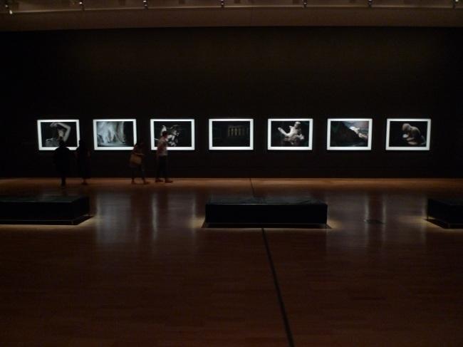 big work fills a big gallery