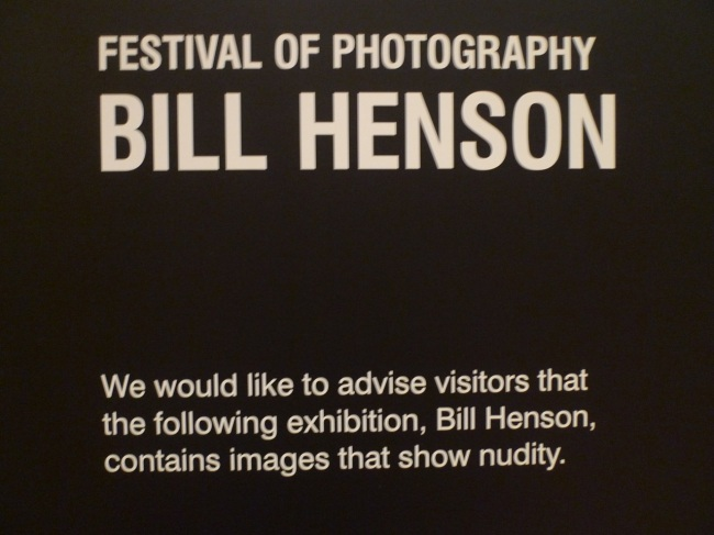 We would like to advise visitors that here's another Bill Henson Show