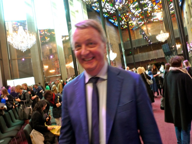 (Fuzzy) Victorian Minister for the Creative Industries Martin Foley