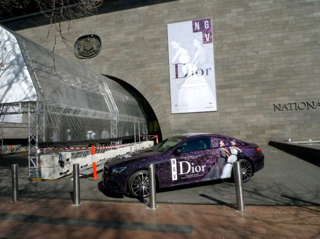 NGV infomercial Product Placement for BMW and Dior