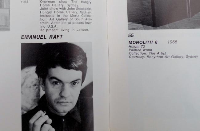 Emanuel Raft, Monolith 8, 1966