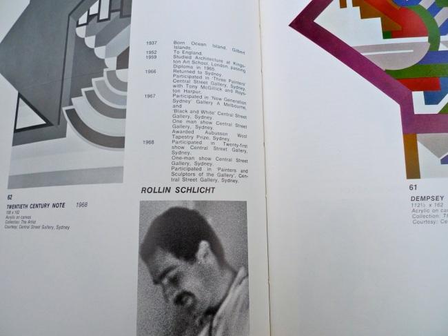 Rollin Schlicht, Twentieth Century Note, 1968
