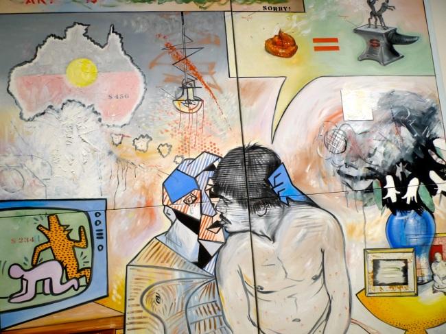 Art i$ Homosexual, Juan Davila '83-'86