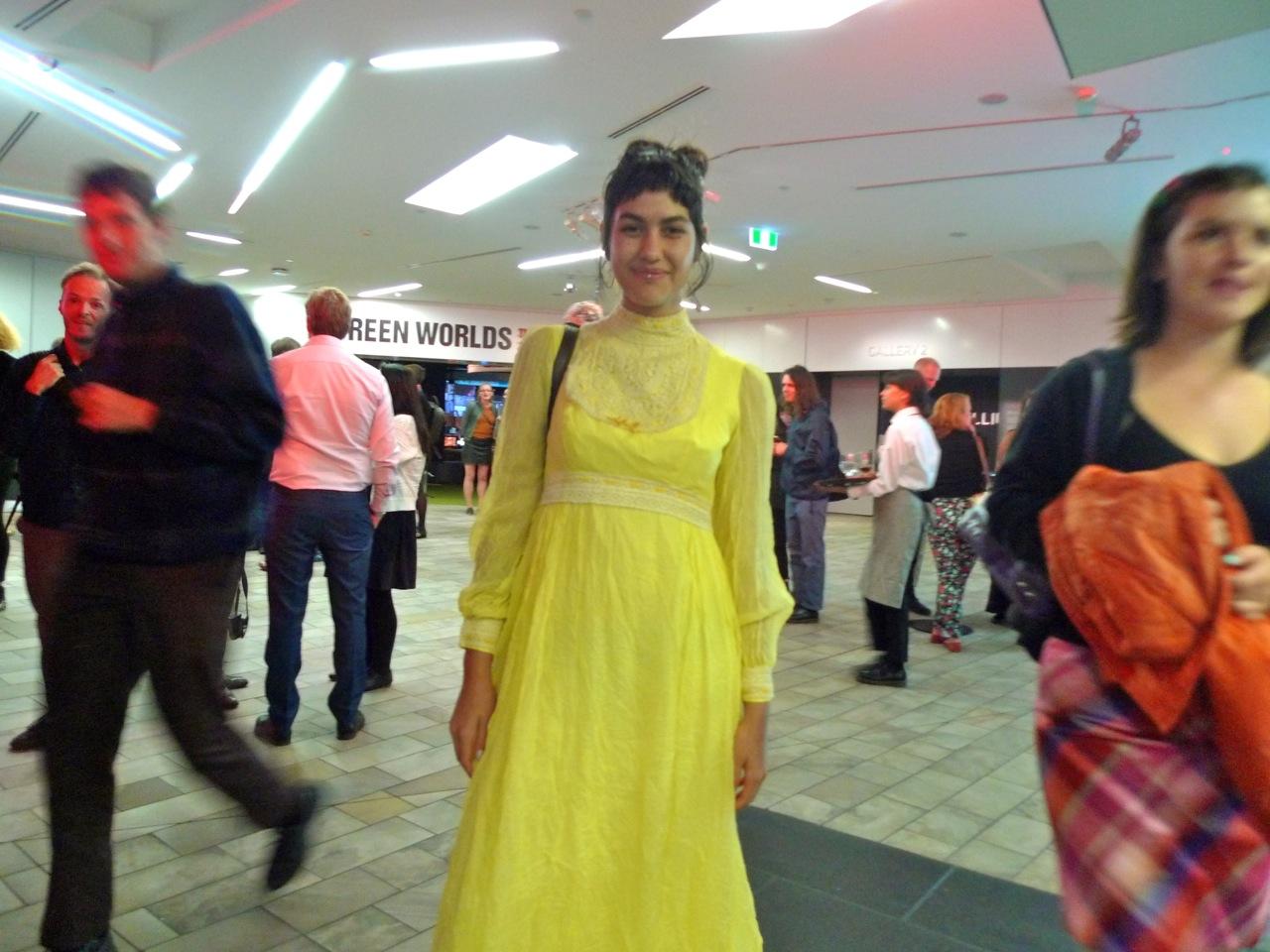 Leila in Yellow