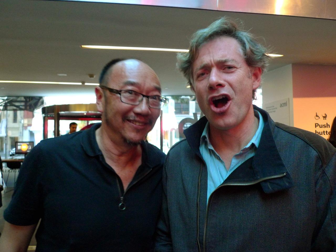 Tony Ayres and Paul