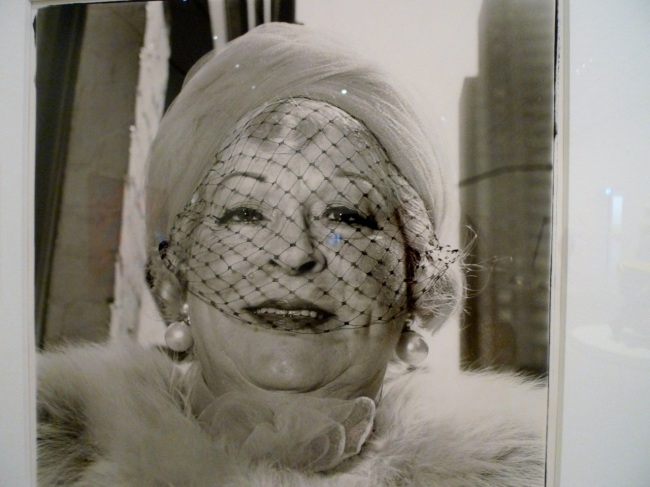 Diane Arbus 'Woman with a veil on Fifth Avenue, New York City'