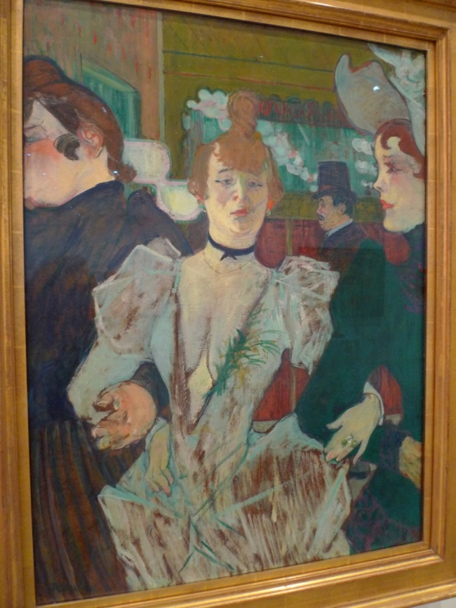 Henri de Toulouse-Lautrec, 'LaGoulue at the Moulin Rouge'