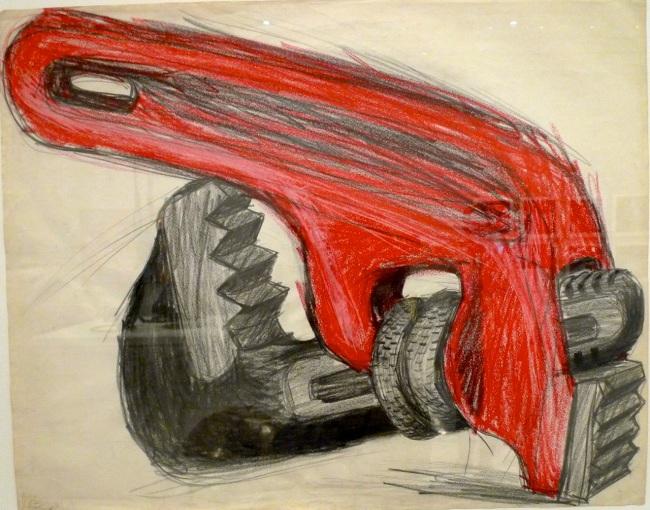 Lee Lozano, 'Untitled, Tool' 1963