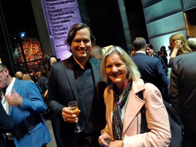 Nick Hooper and Helen Seales
