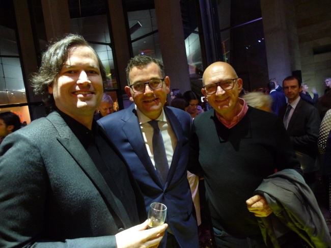 Nick Hooper, Daniel Andrews and friend