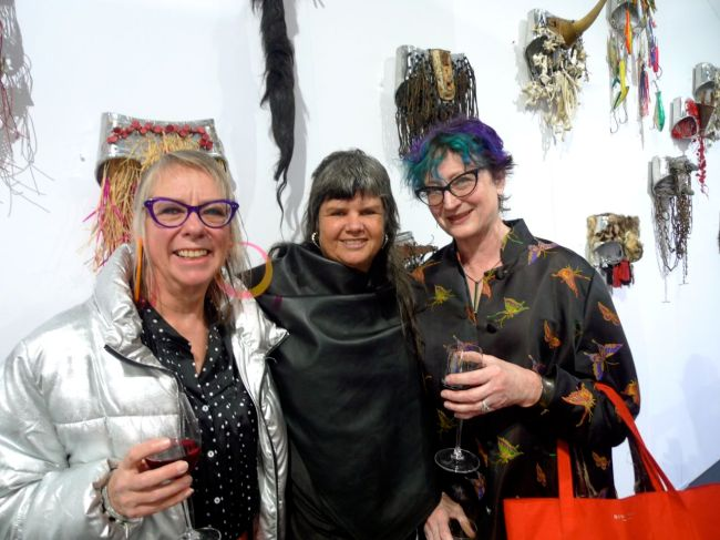 Deb Sims, Karla Dickens and Michelle Clarke