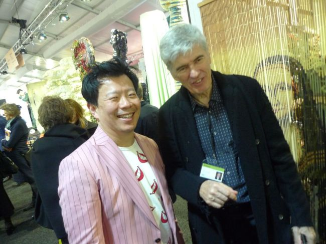 Terry Wu and Tony Oxley