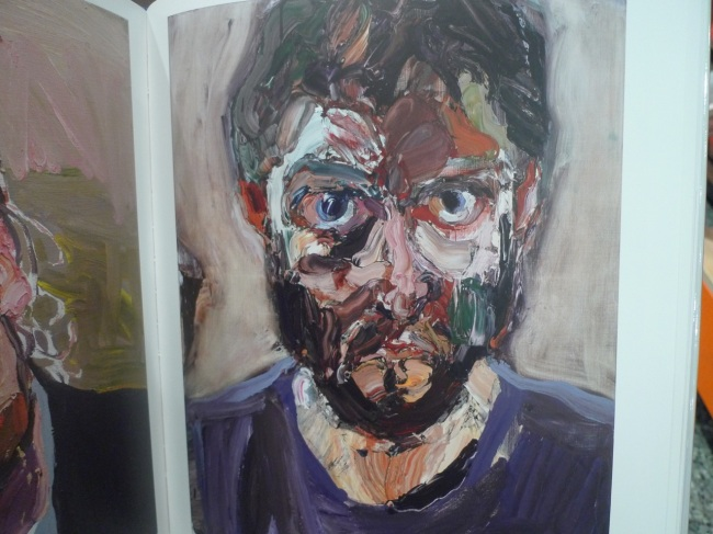 Self-portrait, after Rattle's bucks, 2012