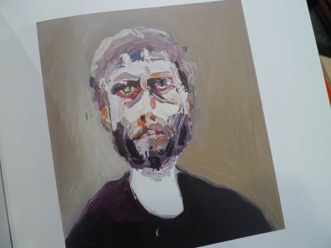 Self-portrait on the day of the review, 2013