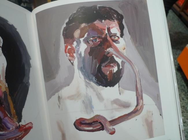 Straight white male, nose self-portrait, 2014