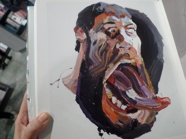 Straight White Male, Self-Portrait (tongue), 2104